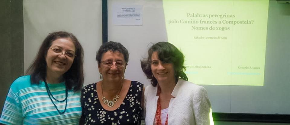 Visita da Profª. Rosario Blanco - USC Espanha